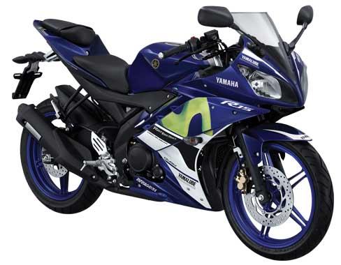 Yamaha YZF-R15 Livery Moto GP tim Movistar