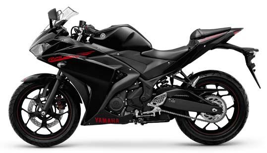 Yamaha YZF-R25 Predator Black