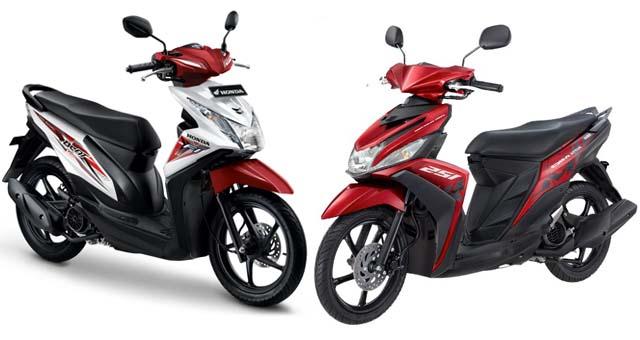 Honda BeAT eSP vs Yamaha Mio M3