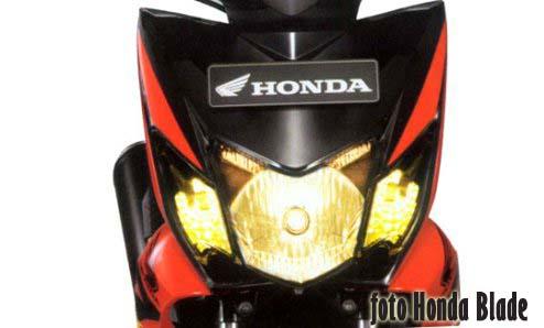 Ini bukan Honda Sonic bebeksport, tapi Honda Blade
