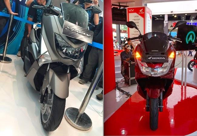 Honda PCX vs NMax