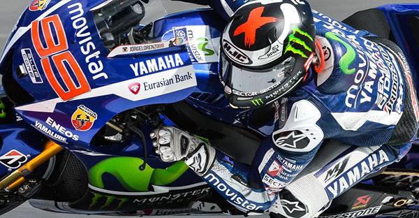 Jorge Lorenzo menangi FP1 MotoGP Aragon