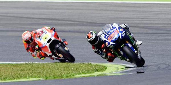 Lorenzo di kejar pembalap Ducati