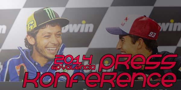 Konferensi Pers MotoGP Valencia 2014 lalu.