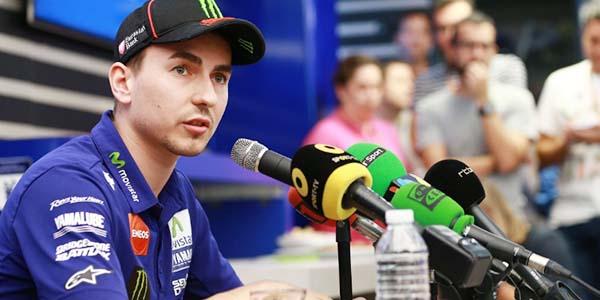 Konformasi Lorenzo dipecat Yamaha