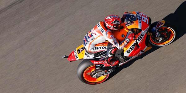 Marc Marquez tercepat di FP4 MotoGP Valencia