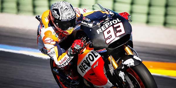 Marc Marquez tes pramusim MotoGP 2016