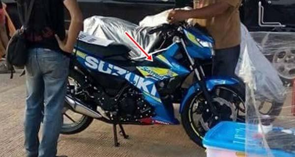 Satria F150 Injeksi Livery MotoGP Shooting iklan
