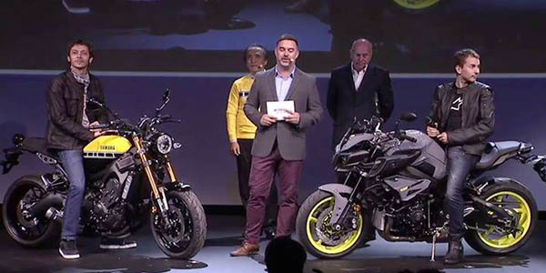 Yamaha XSR Rossi dan MT-10 Lorenzo