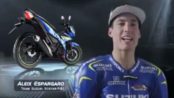 Video Aleix Espargaro dan All NEw Satria