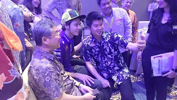 Rossi sudah ada di Bali tanpa Lorenzo