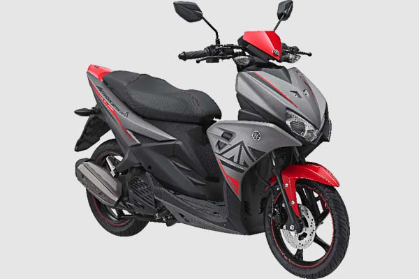 Pilihan Warna Yamaha Aerox 125 LC warna Gray