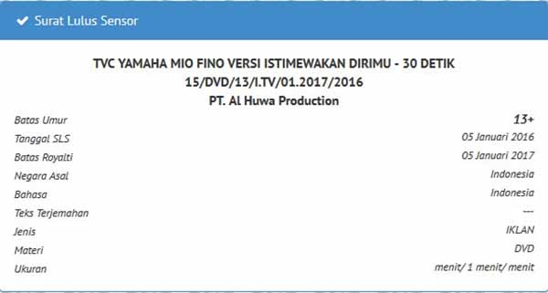 Yamaha Mio Fino 125 Bluecore sebentar lagi On Air