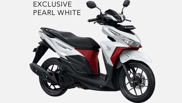 Pilihan Warna All New Vario 150 Exclusive 2016 warna Putih