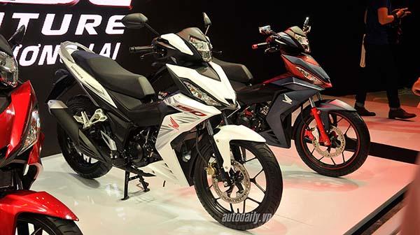 Honda Supra X 150 aka Winner warna Putih