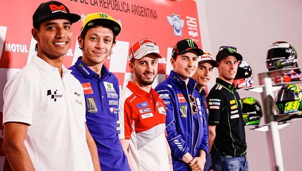 Konferensi Pers MotoGP Argentina 2016