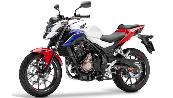 Honda CB650F 2016