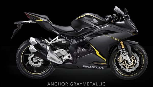 Pilihan Warna Honda CBR250RR Warna Hitam Kuning