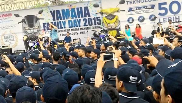 Yamaha Family Day