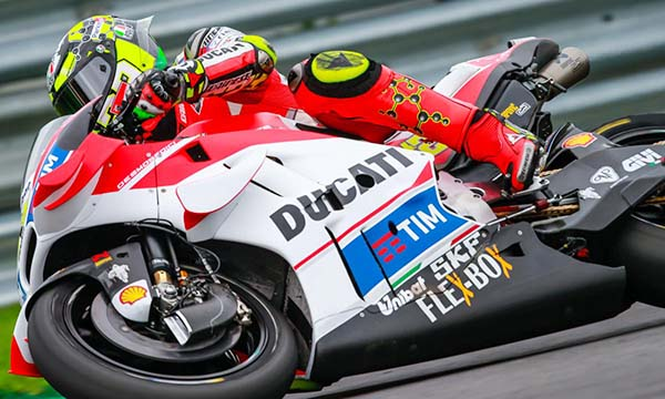 Andrea Iannone Pole Position di MotoGP Austria