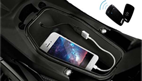 Fitur Charger USB dan Alarm Satria F150