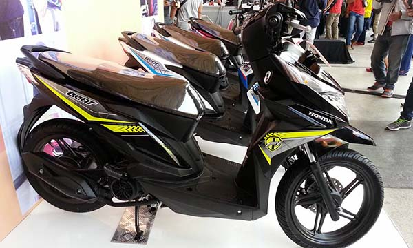 All New BeAT eSP facelift warna hitam