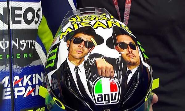 Helm Spesial Valentino Rossi
