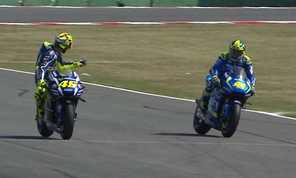 Insiden Valentino Rossi dan Aleix Espargaro