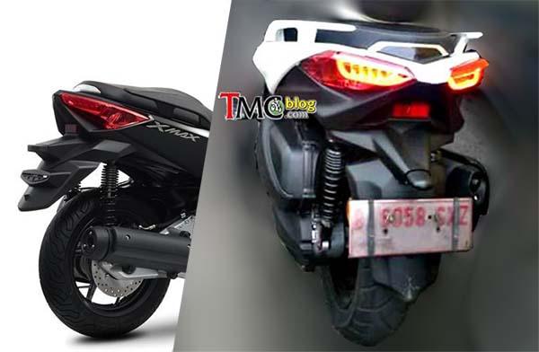 Komparasi Yamaha XMax Indonesia dan Eropa