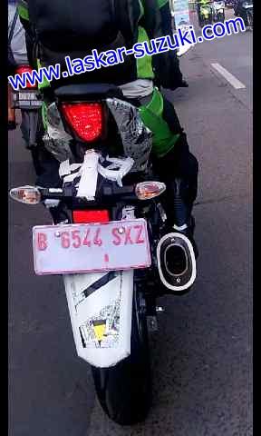 Suzuki GSX-R150 ditest di jalanan