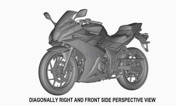 Gambar paten Suzuki GSX-R250