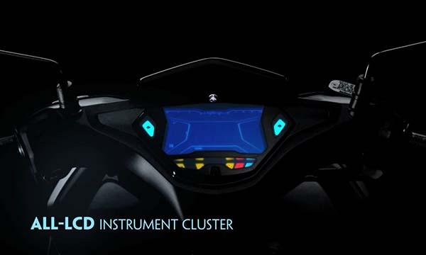 Yamaha NVX Speedometer Digital