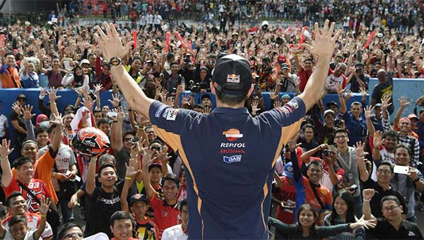 Marc Marquez puji fans Indonesia