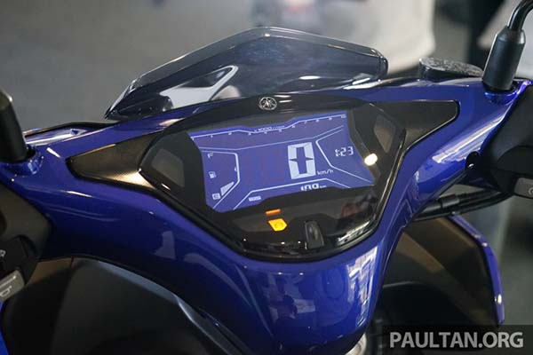 Panel Speedometer Yamaha Aerox 155