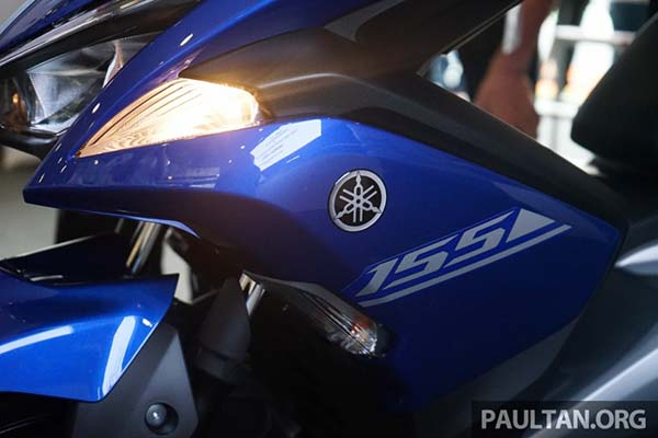 Lampu answer back Yamaha Aerox 155