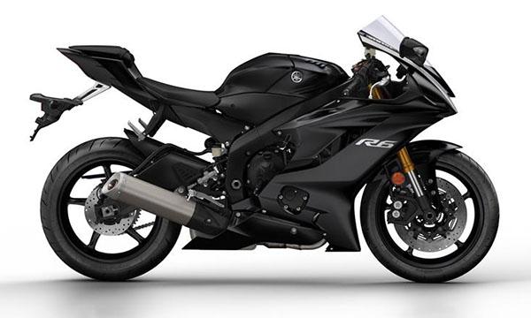 Yamaha R6 2017 warna hitam