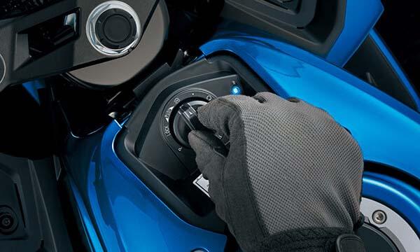 Fitur Suzuki GSX Keyless Ignition