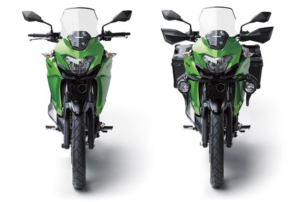 Kawasaki Versys-X 250 view dari depan