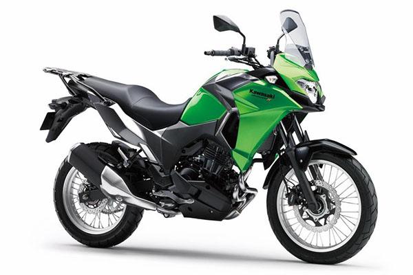 Pilihan warna Kawasaki Versys-X 250 standar warna Hijau