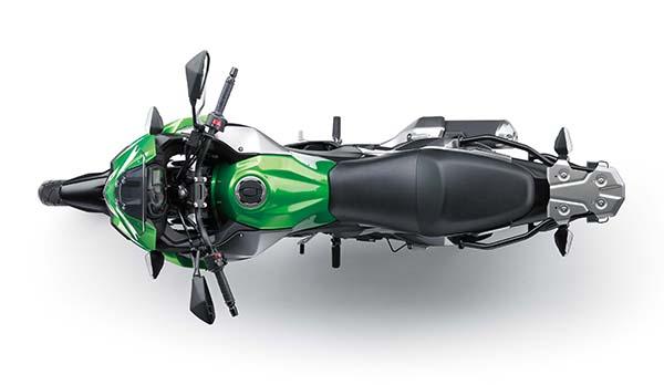Kawasaki Versys-X 250 view dari atas