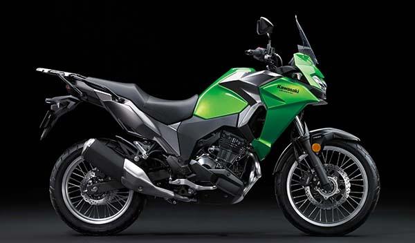 Kawasaki Versys-X 250 hijau