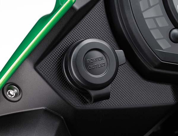 Kawasaki Versys-X 250 power outlet