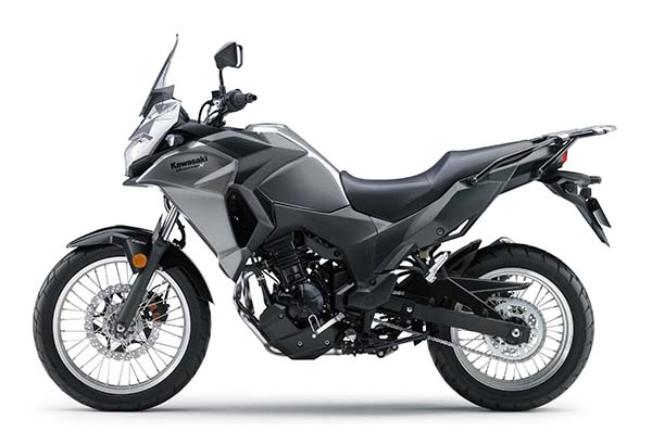 Kawasaki Versys-X 250 silver kiri