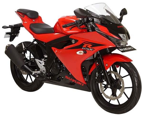Pilihan Warna Suzuki GSX-R150 warna Stronger Red
