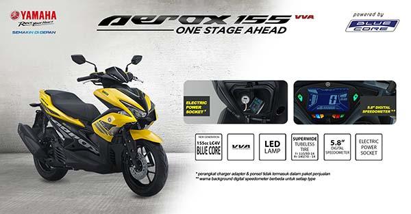 Yamaha Aerox 155 Standar