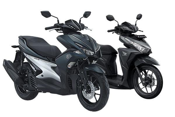 Yamaha Aerox 155 vs Honda Vario 150