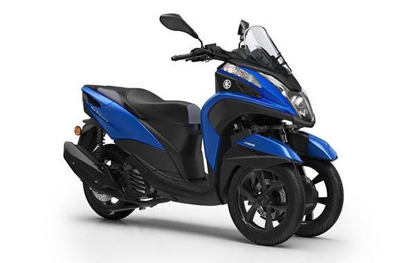 Yamaha Tricity 155 biru