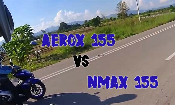 Drag Aerox 155 vs NMax