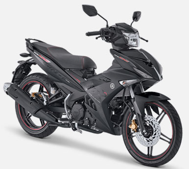 Pilihan Warna Jupiter MX King 150 warna Drift Black