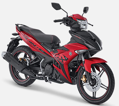 Pilihan Warna Jupiter MX King 150 warna Redking